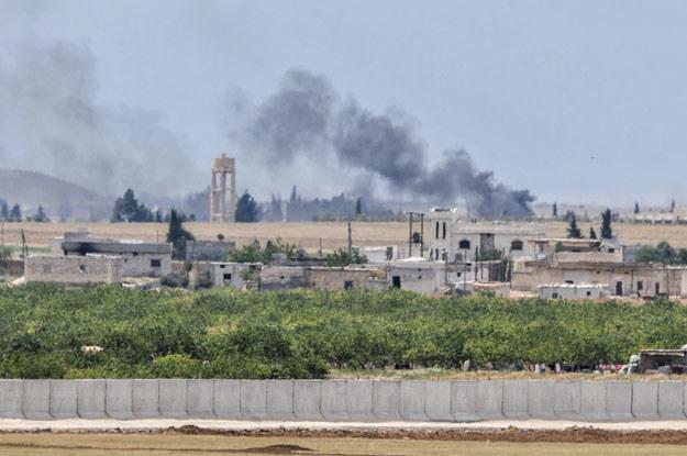 Dzienikarze przybyli do Syrii aby informować o wojnie domowej w tym kraju /AFP
