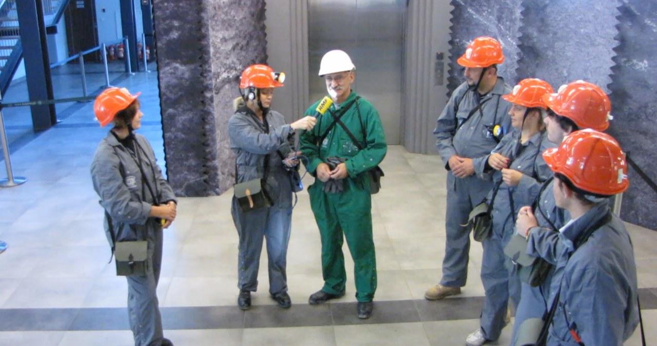Dziennikarka RMF FM na nowym szlaku wielickiej kopalni
