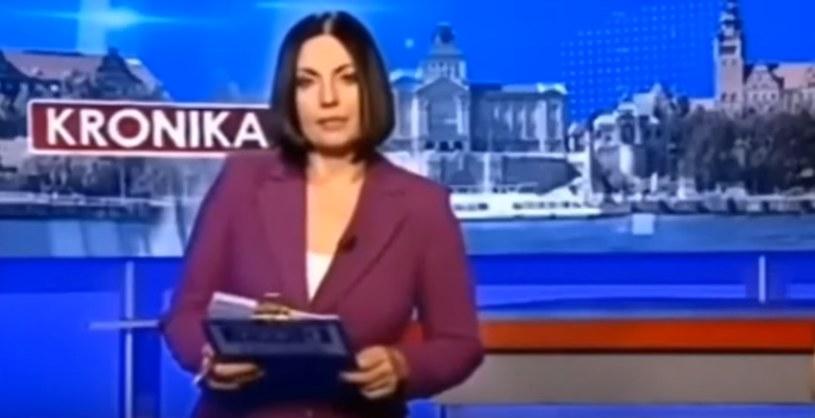 Dziennikarka TVP3 Szczecin /YouTube /materiał zewnętrzny