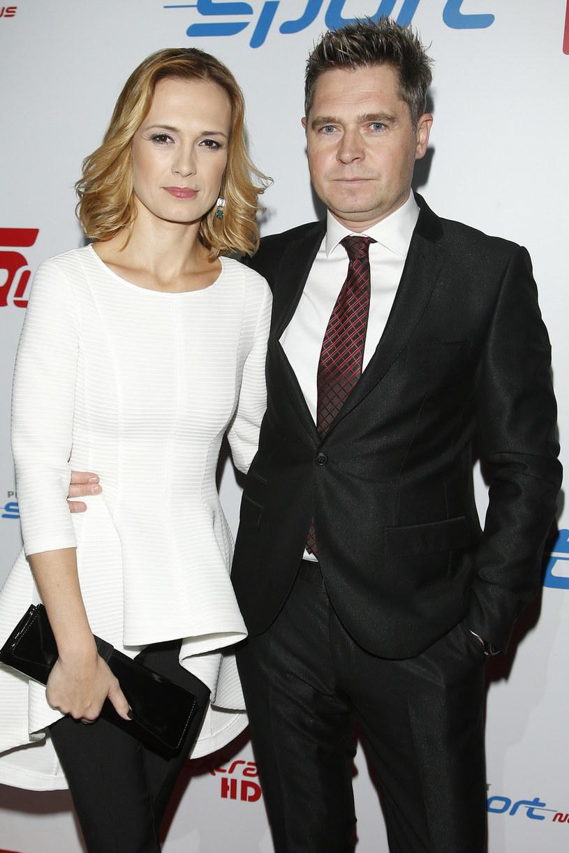 Dziennikarskie małżeństwo: Paulina Chylewska i Marcin Feddek /AKPA