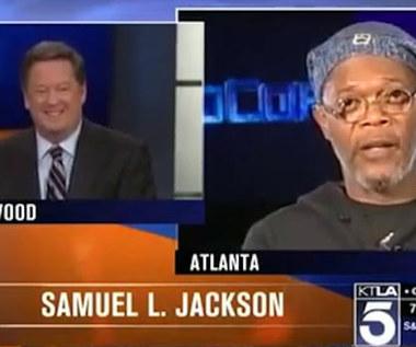 Dziennikarz pomylił Samuela L. Jacksona z Laurence'em Fishburnem