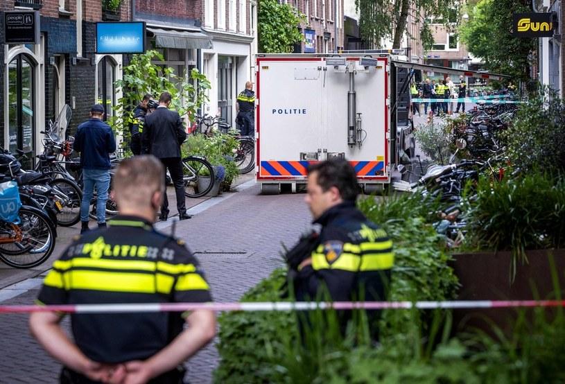 Dziennikarz postrzelony w Holandii /EVERT ELZINGA    /East News