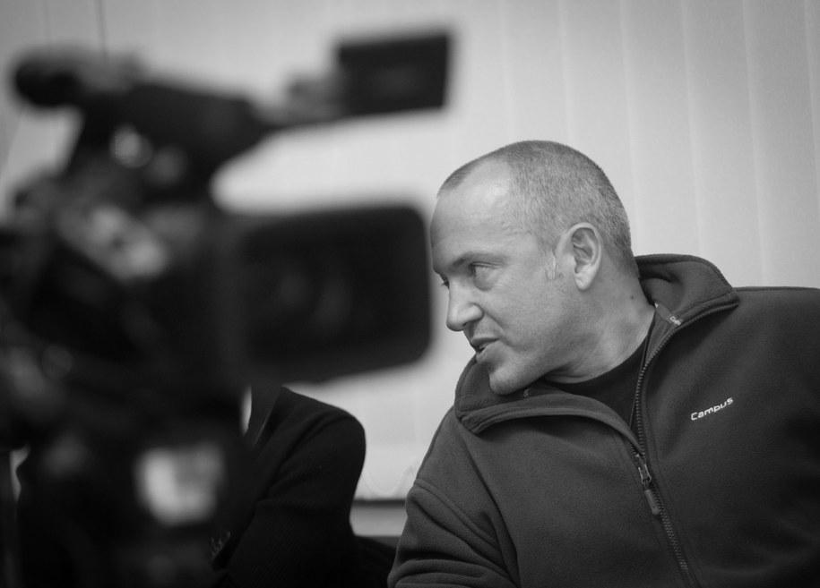 Dziennikarz zmarł we wtorek. Miał 53 lata /Grzegorz Michałowski   /PAP