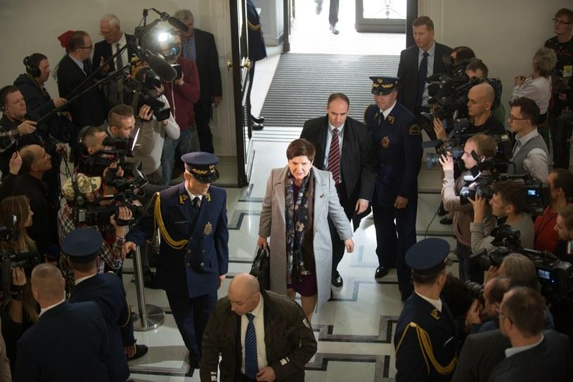 Dziennikarze w Sejmie; zdj. ilustracyjne /Witold Rozbicki /Reporter
