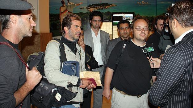 Dziennikarze zatrzymani przez libijską armię są już wolni /AFP