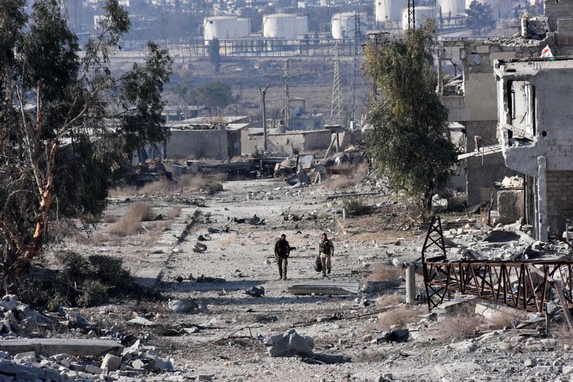 Dziesiątki tysięcy osób są bezpośrednio zagrożone śmiercią w wyniku trwających walk we wschodnim Aleppo /GEORGE OURFALIAN /  /AFP