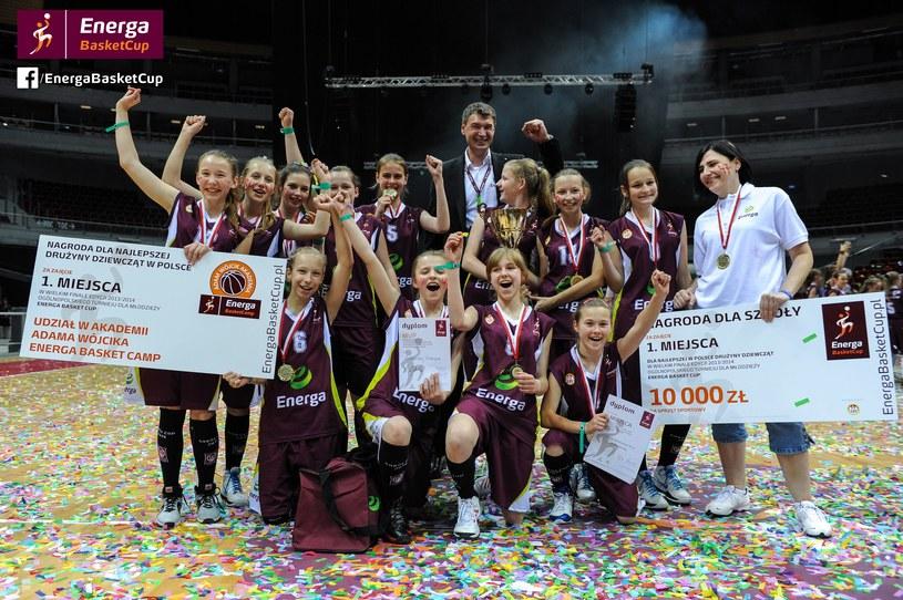 Dziewczęta z SP 47 z Białegostoku nie miały sobie równych! Gratulacje! /INTERIA.PL