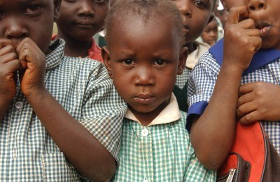 Dziewczynka ze Stara Rescue Centre w Nairobi, fot. UNICEF/HQ04-0037/Mariella Furrer /