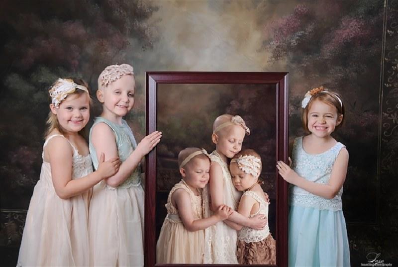 Dziewczynki znów się spotkały /Scantling Photography /Internet