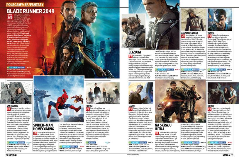 Dziewiąty numer magazynu NETFILM w sprzedazy od 2 lipca /Bauer
