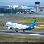 Dziewiczy lot pierwszego samolotu A330neo