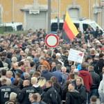 Dziewięć osób rannych podczas demonstracji i kontrdemonstracji w Chemnitz