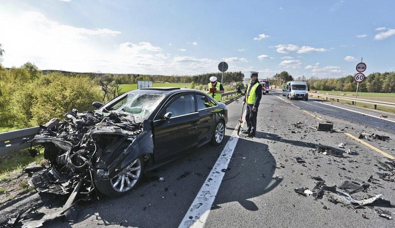 Dziewięć osób zginęło wczoraj na polskich drogach/ zdjęcie ilustracyjne /Piotr Jędzura /Reporter