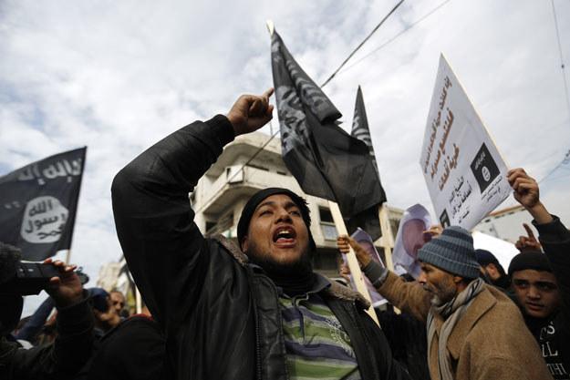 Dżihadyści stosują brutalne prawo szariatu fot. Mohammed Abed /AFP