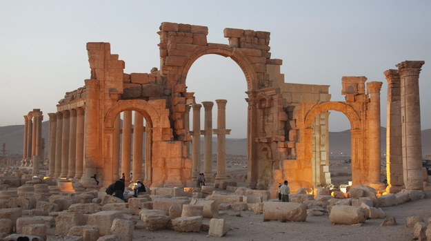 Dżihadyści wysadzili starożytną świątynię w Palmyrze