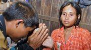 Dzika kobieta z Kambodży