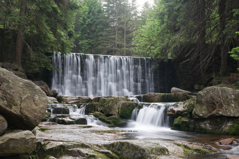 Dziki Wodospad w pobliżu Karpacza /123RF/PICSEL