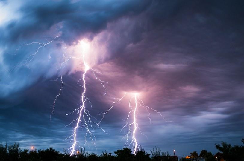 Dziś burze mogą wystapić prawie w całej Polsce /123RF/PICSEL