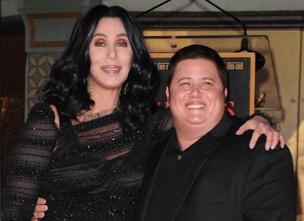Dziś Cher wspiera swojego syna /Getty Images/Flash Press Media