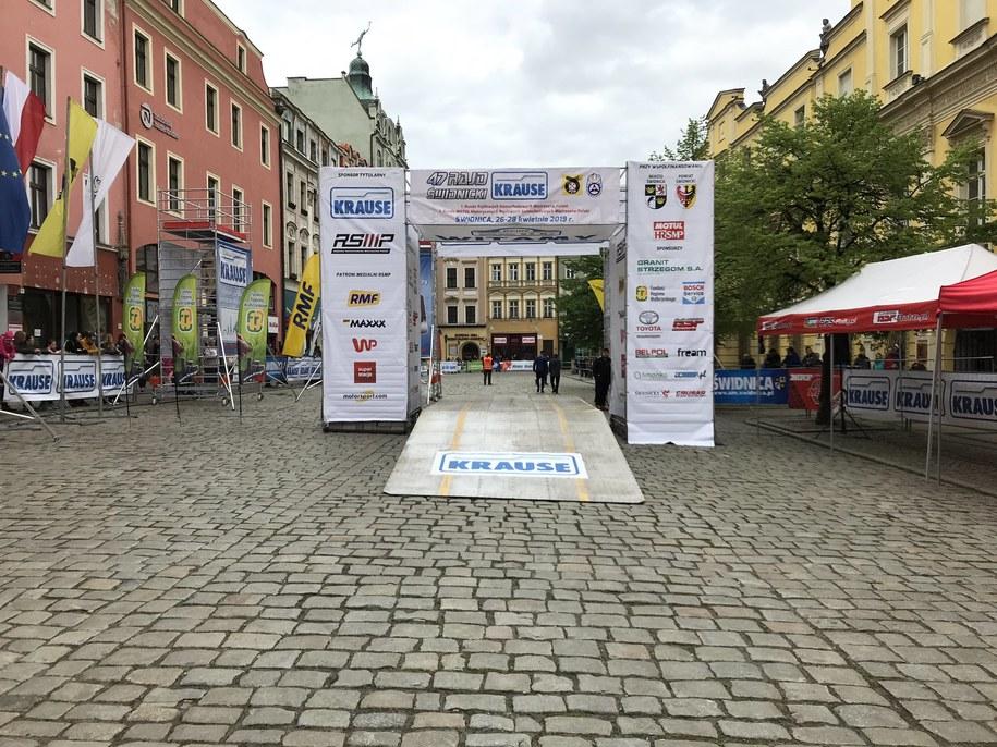 Dziś drugi dzień rywalizacji kierowców /Patryk Serwanski /RMF FM