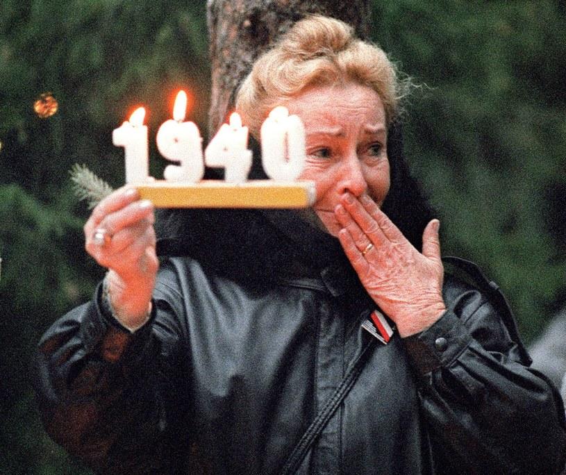Dziś Dzień Pamięci Ofiar Zbrodni Katyńskiej /AFP