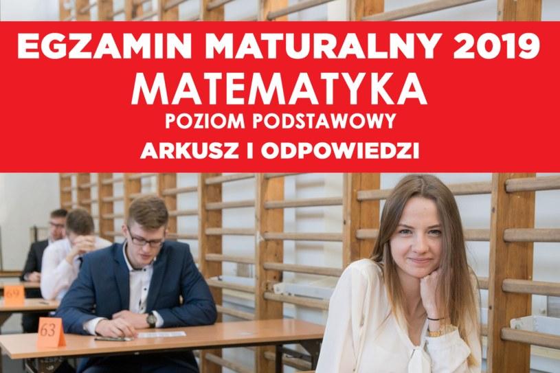 Dziś egzamin maturalny z matematyki - poziom podstawowy /Marek Szandurski /East News