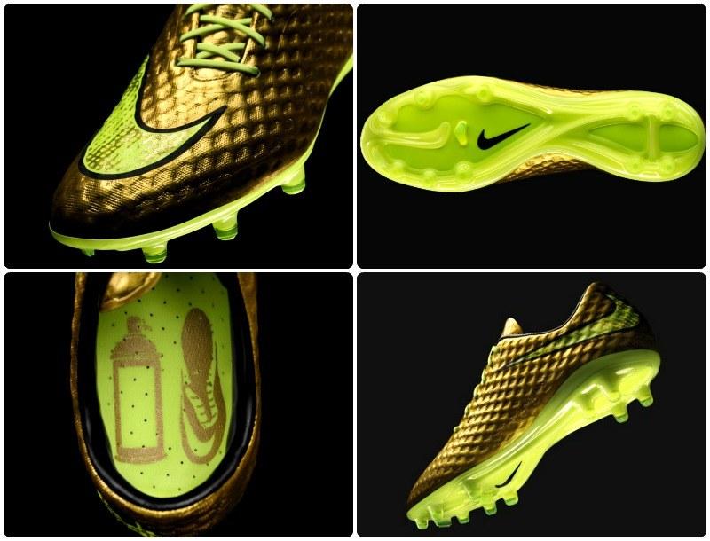 Dziś Neymar nie musi malować swoich butów na złoto... /materiały prasowe