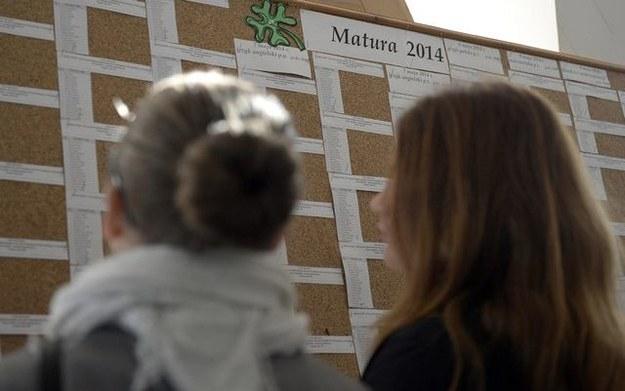 Dziś odbyła się matura z języka niemieckiego /Darek Delmanowicz /PAP