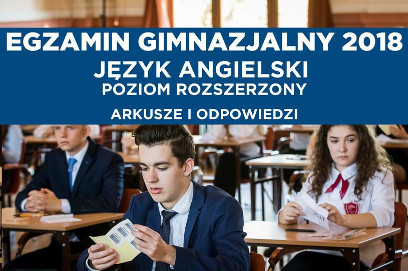 Dziś ostatni dzień egzaminów gimnazjalnych 2018 /TOMASZ CZACHOROWSKI/POLSKA PRESS /East News
