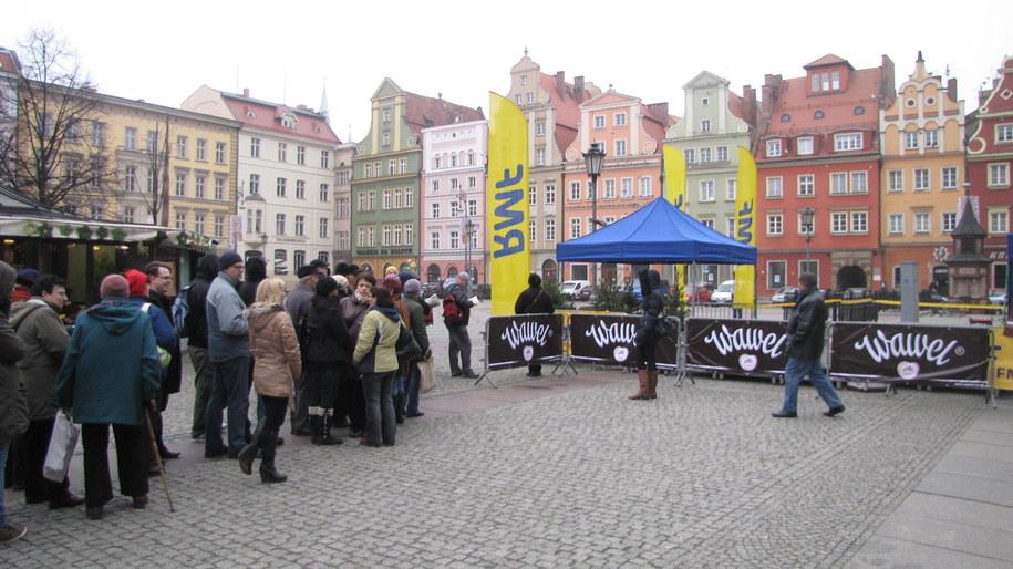 Dziś rozdajemy choinki we Wrocławiu /Jacek Skóra /RMF FM