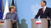 """Dziś rozmowy Morawiecki-Merkel. """"Bez tabu"""""""