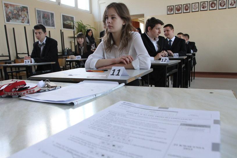 Dziś uczniowie zakończyli zdawanie egzaminów /Łukasz Zarzycki /Agencja FORUM