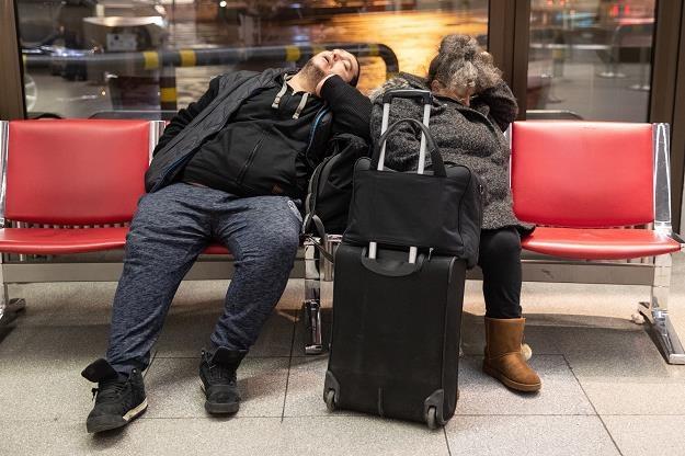 Dzisiaj na lotnisku Tegel w Berlinie /EPA