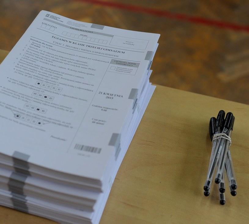 Dzisiaj uczniowie poznali wyniki egzaminu gimnazjalnego /LUKASZ SOLSKI /East News