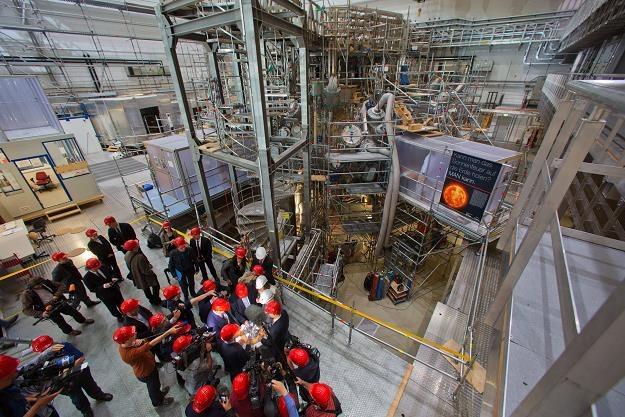 Dzisiaj w Instytucie Fizyki Plazmy Max Planck w niemieckim Greifswald /EPA