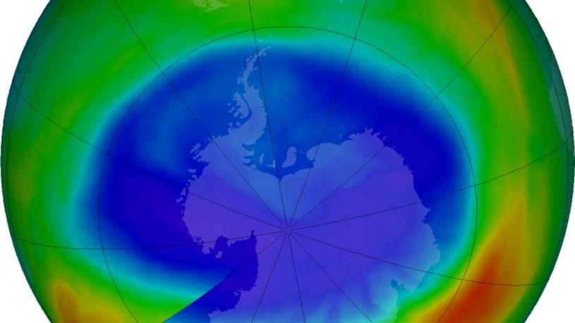 Dziura ozonowa jest mniejsza niż rok temu /materiały prasowe