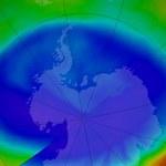 Dziura ozonowa najmniejsza od 30 lat
