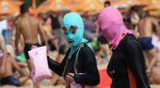 Dziwaczna moda na chińskich plażach