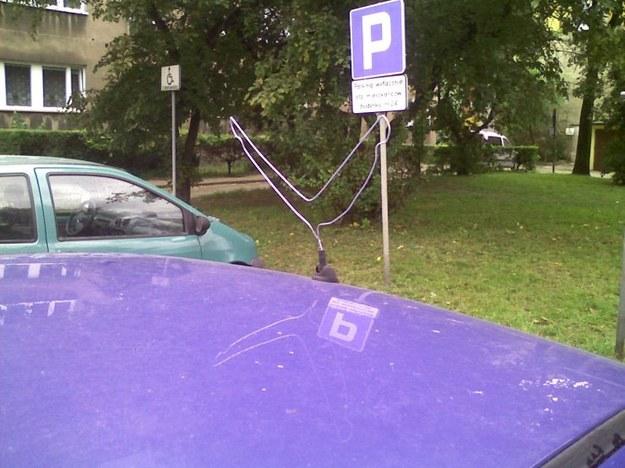 Dziwna antena...