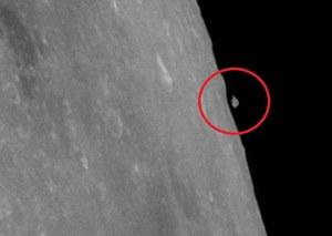 Dziwne zdjęcia z Księżyca. NASA odmawia komentarza