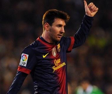 Dziwny facet Messi
