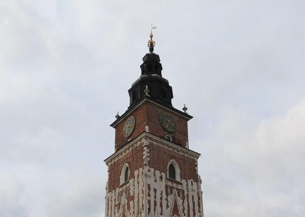 """Dzwon """"Bolesław"""" znajduje się w Wieży Ratuszowej /Jacek Skóra /RMF FM"""