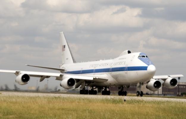 """E-4B Nightwatch - """"samolot na dzień Sądu Ostatecznego"""". fot. Beverly Nowak, Boeingmedia.com /materiały prasowe"""