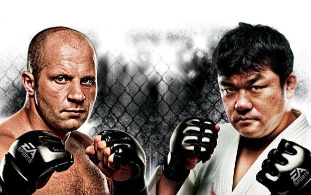EA Sports MMA - motyw graficzny /Informacja prasowa