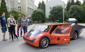 Eagle Two - nowy, solarny pojazd polskich studentów