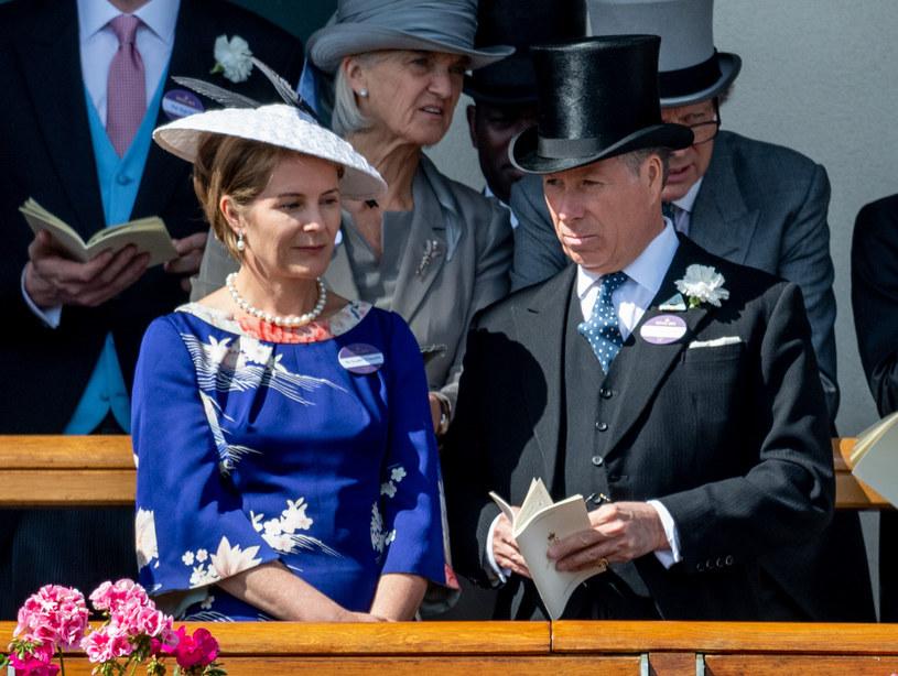 Earl Snowdon i jego żona Serena byli małżeństwem przez 26 lat /Mark Cuthbert /Getty Images