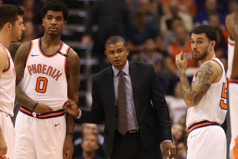 Earl Watson nie jest już trenerem Phoenix Suns /Christian Petersen /Getty Images