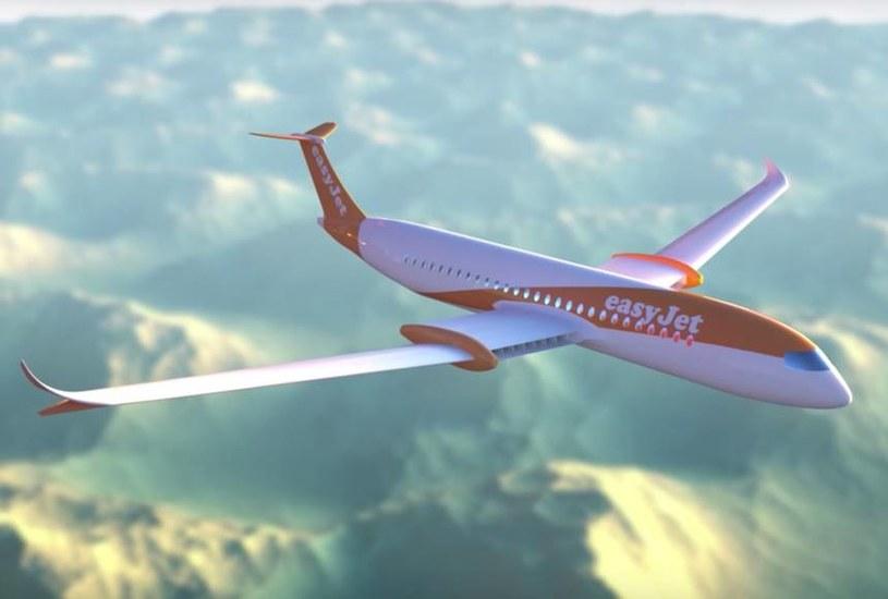 easyJet planuje wprowadzenie samolotów elektrycznych do swojej floty /materiały prasowe