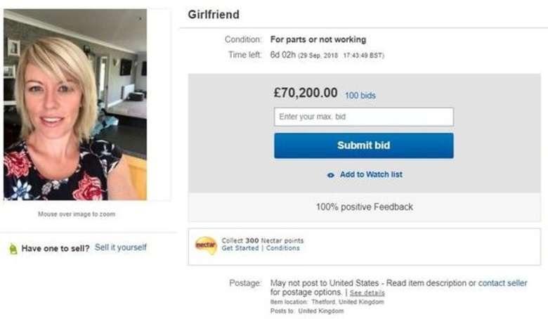 ebay/Cena wzrosła do 119 tys. dolarów, zanim eBay usunął aukcję /domena publiczna