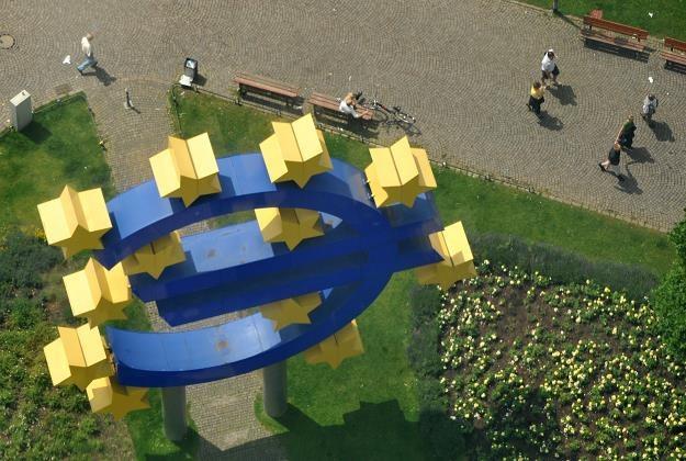 EBC nie zmieni stóp mimo fatalnych danych o koniunkturze /AFP